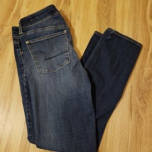 American Eagle blue Jean's
